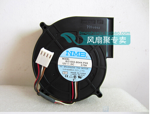 New original NMB BG1002-B044-P0S 12V 0.75A 100*100*25mm four server turbo blower