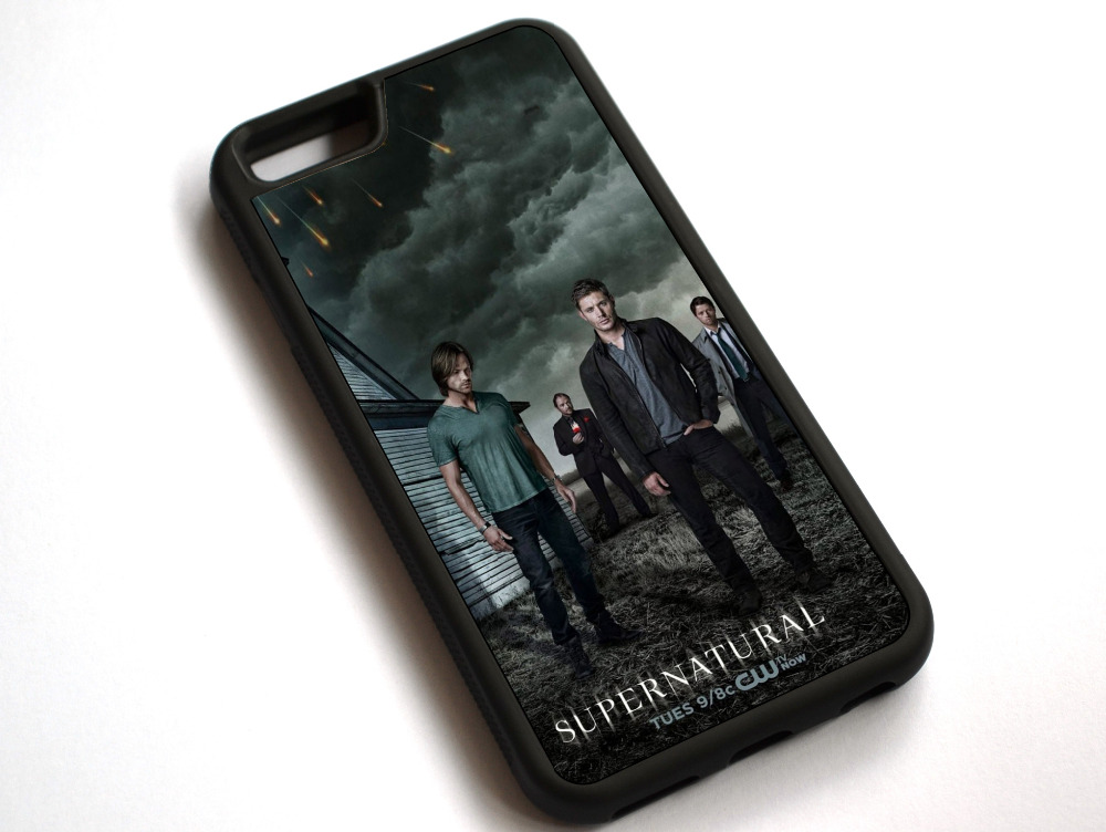 Supernatural-TV Göster Vaka Kapak Apple iPhone 7 Için 7 Artı